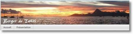 Berger de Tahiti Large Web view