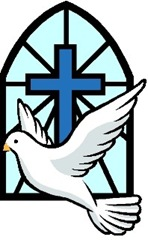 Holy Spirit dove cross window Small Web view