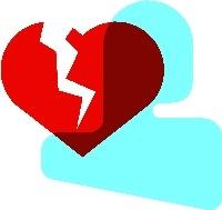 Coeur brisé 200x189